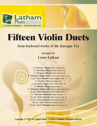 Fifteen Violin Duets