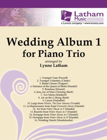 Wedding Album 1 for Piano Trio