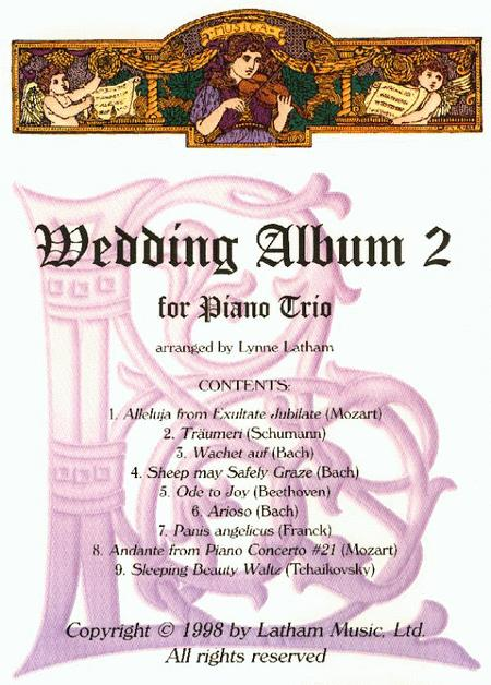 Wedding Album 2 for Piano Trio