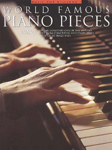 World Famous Piano Pieces Sheet Music By Hugo Frey - Sheet