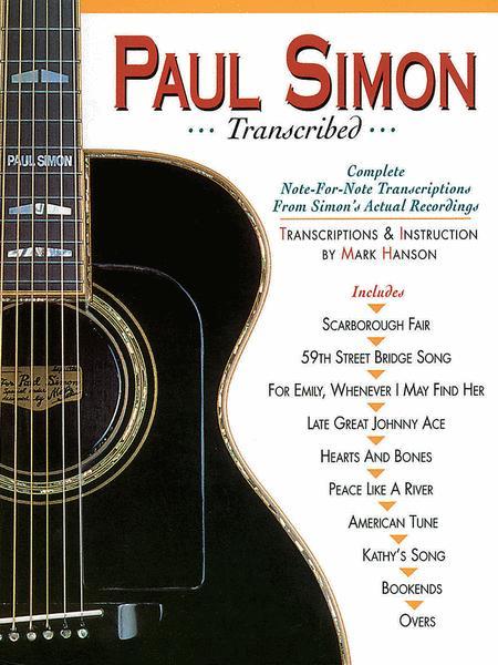 Paul Simon - Transcribed