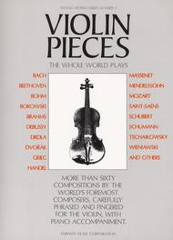 Violin Pieces The Whole World Plays