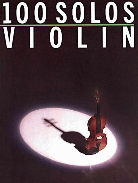 100 Solos - Violin