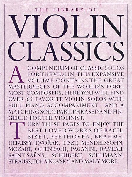 Library Of Violin Classics