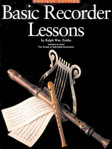 Basic Recorder Lessons - Omnibus Edition