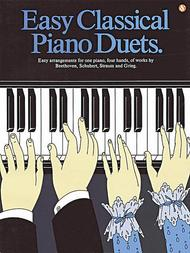 Easy Classical Piano Duets
