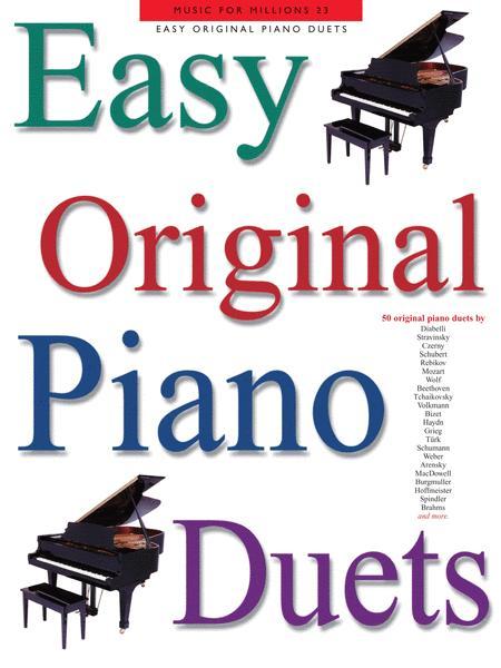 Easy Original Piano Duets