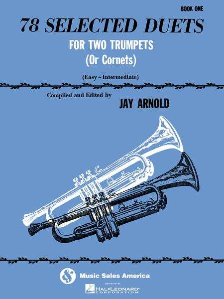 78 Selected Duets for Trumpet or Cornet - Book 1 Easy Intermediate