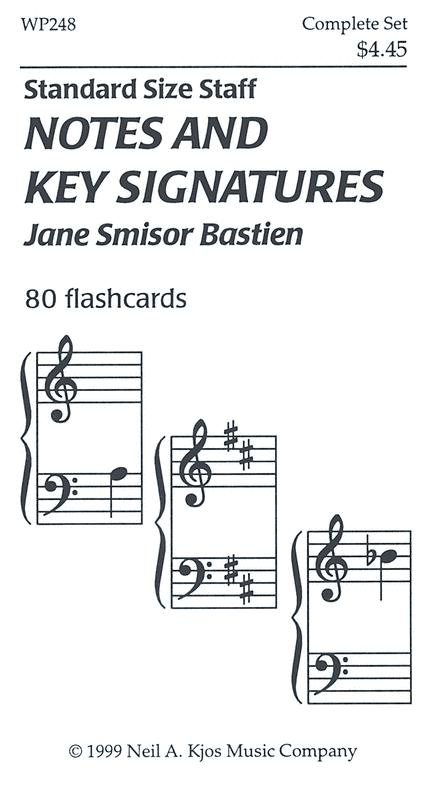 Notes And Key Signatures - 80 Flashcards