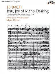 Jesu Joy Of Mans Desiring Piano Solo