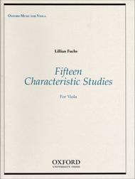 Fifteen Characteristic Studies for Viola
