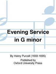 Evening Service in G minor