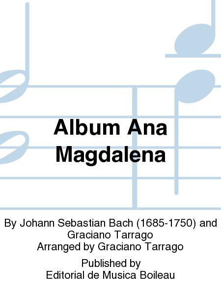 Album Ana Magdalena Sheet Music By Johann Sebastian Bach - Sheet ...