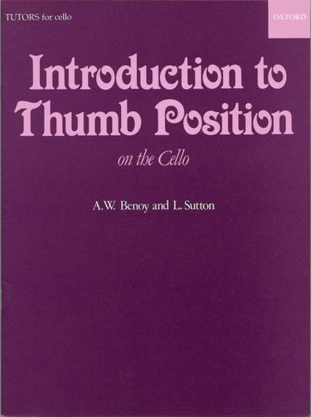 Introduction To Thumb Position on the Cello