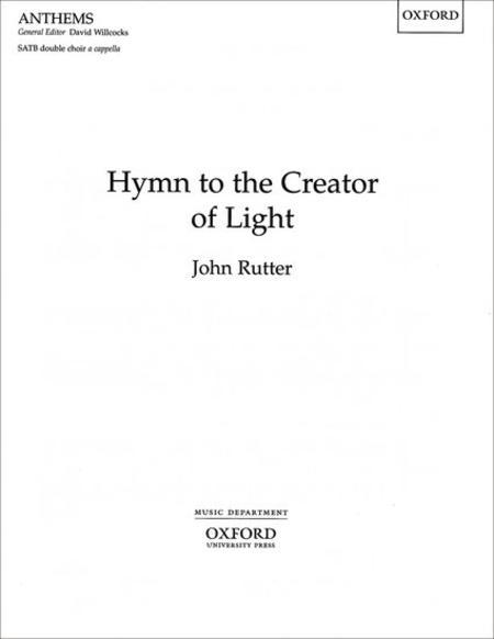 Hymn to the Creator of Light