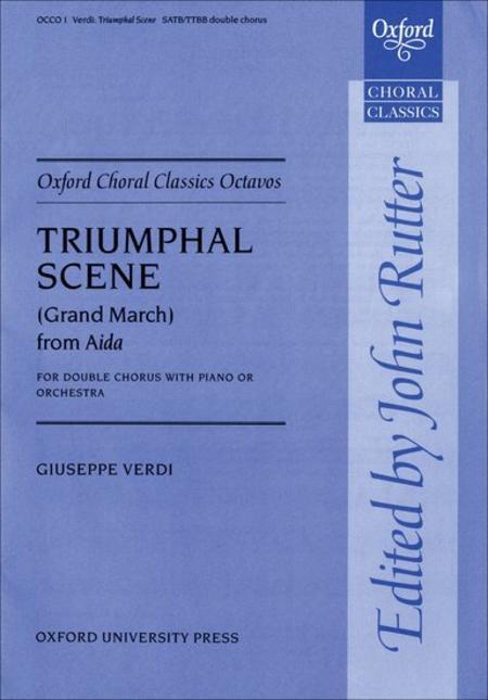 Triumphal Scene (Grand March) from Aida