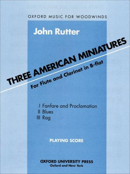 Three American Miniatures