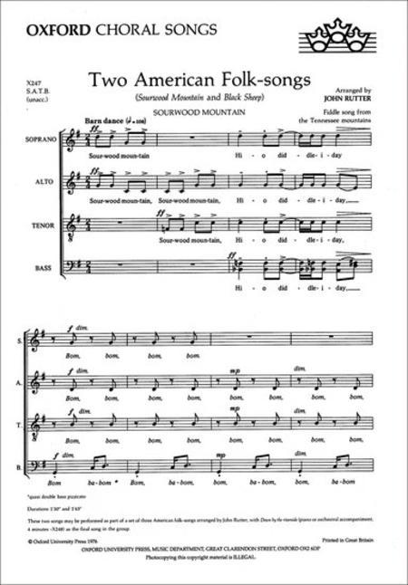 Two American Folk-songs