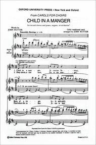 Child in the Manger: Christmas Sheet Music for String Quartet