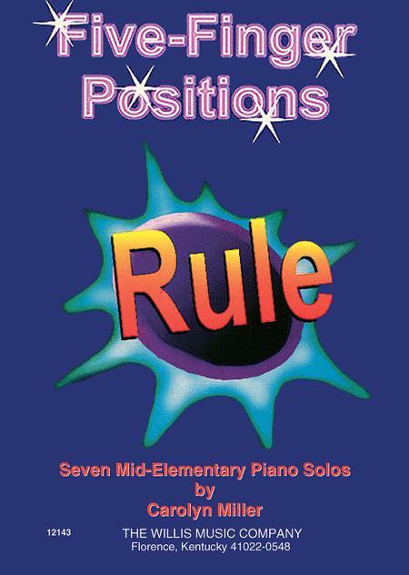 Five-Finger Positions Rule