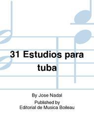 31 Estudios para tuba