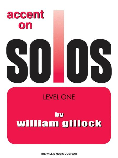 Accent on Solos Book 1