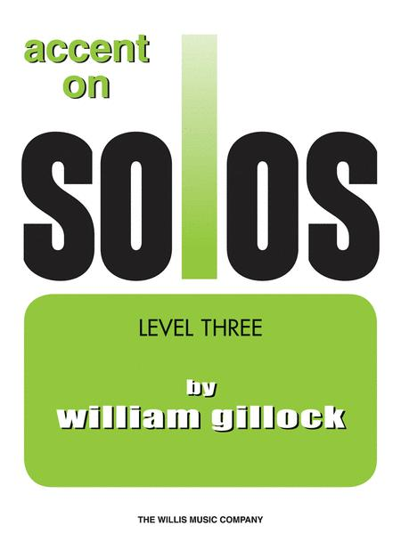 Accent on Solos Book 3