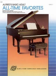 Alfred's Basic Adult Piano Course All-Time Favorites, Book 1