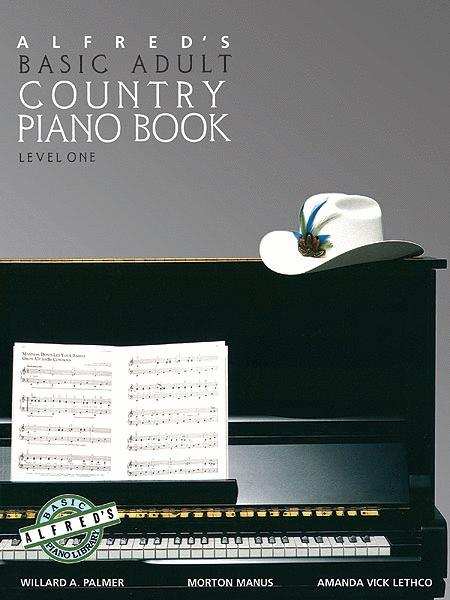 Alfred's Basic Adult Piano Course Country Songbook, Book 1