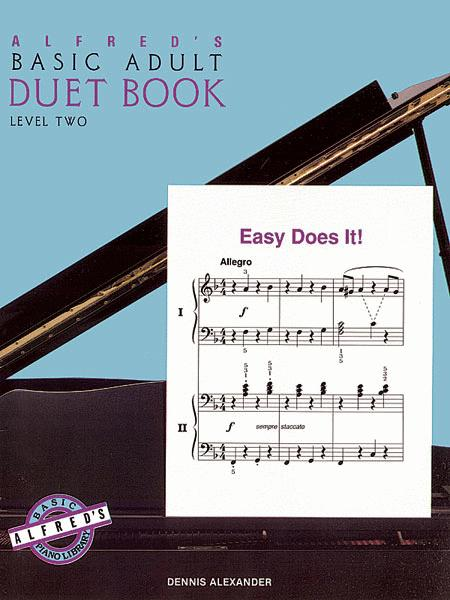Alfred's Basic Adult Piano Course Duet Book, Book 2