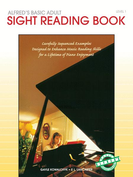 Alfred's Basic Adult Piano Course Sight Reading, Book 1