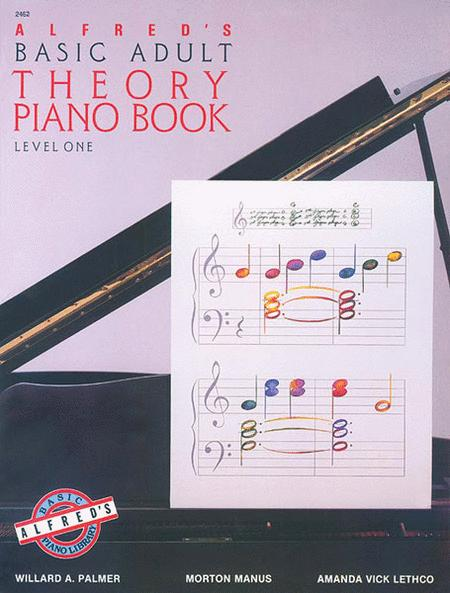 Alfred's Basic Adult Piano Course Theory, Book 1