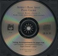Alfred's Basic Adult Piano Course - CD (Lesson Book, Level 2)