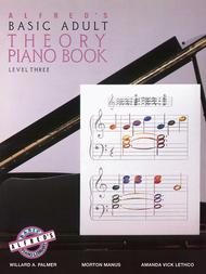 Alfred's Basic Adult Piano Course Theory, Book 3