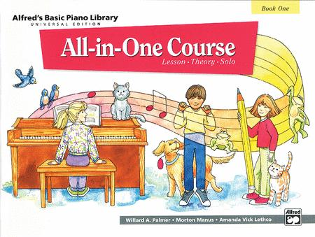 Alfred's Basic Piano Library All-in-One Course - Book 1 (Universal Edition)