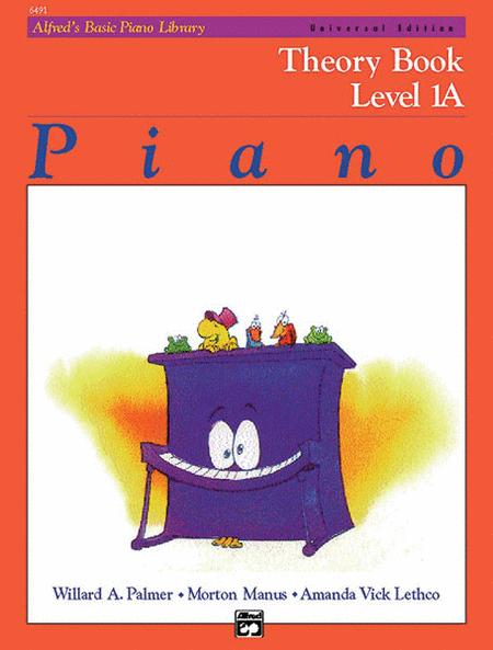 Alfred's Basic Piano Course Theory Book - Level 1A (Universal Edition)