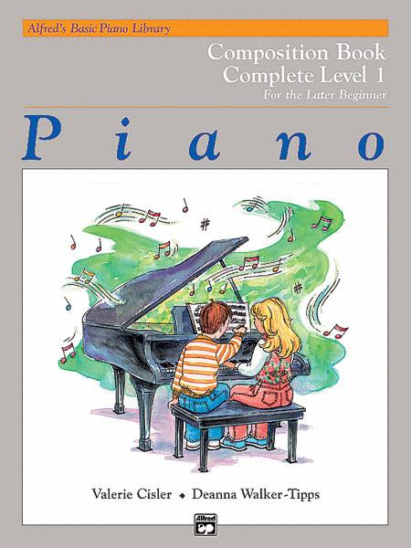 Alfred's Basic Piano Course: Composition Book Complete 1 (1A/1B)