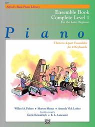 Alfred's Basic Piano Library Ensemble Book Complete, Book 1