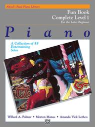 Alfred's Basic Piano Library Fun Book Complete, Book 1
