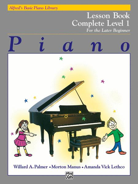 Alfred's Basic Piano Library Lesson Book Complete, Book 1