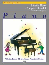 Alfred's Basic Piano Library Lesson Book Complete