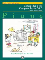 Alfred's Basic Piano Library Notespeller Complete