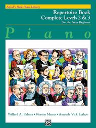 Alfred's Basic Piano Library Repertoire Complete, Book 2 & 3