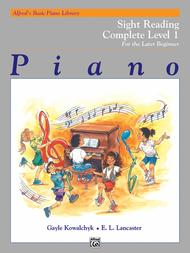 Alfred's Basic Piano Course - Sight Reading Book Complete Level 1 (1A/1B)