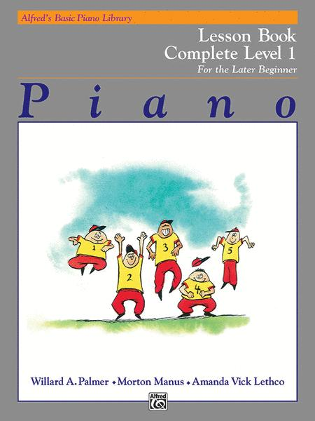 Alfred's Basic Piano Course - Technic Book - Complete Level 1 (1A/1B)