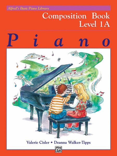 Alfred's Basic Piano Library Composition Book, Book 1A