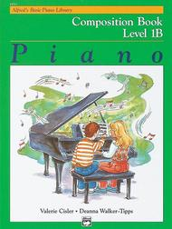 Alfred's Basic Piano Library Composition Book, Book 1B