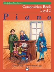 Alfred's Basic Piano Course Composition Book, Level 2