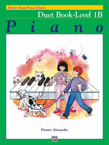 Alfred's Basic Piano Course - Duet Book Level 1B