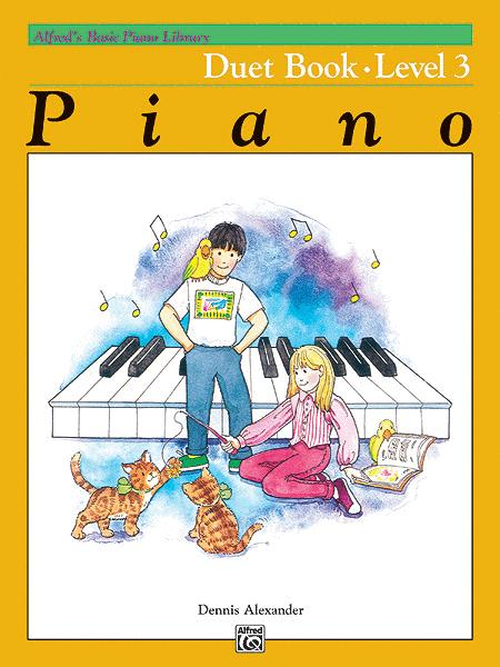 Alfred's Basic Piano Course - Duet Book, Book 3